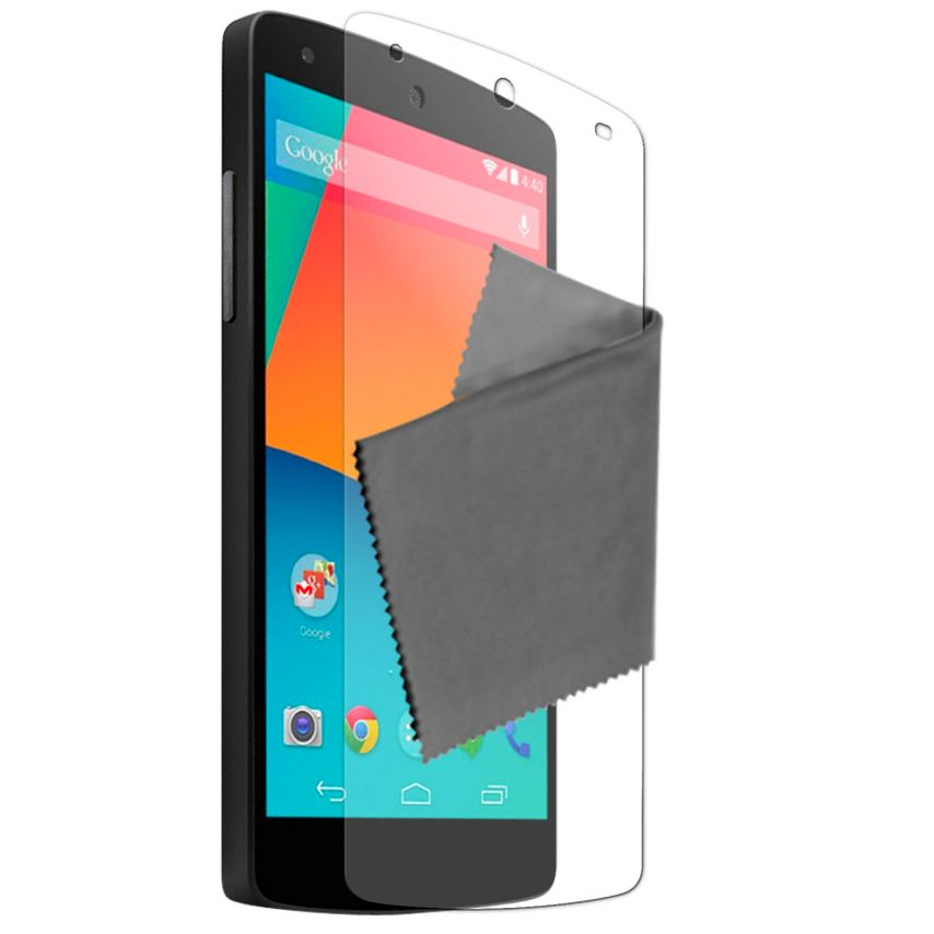 Visuel unique de Films de protection anti traces de doigts LG Nexus 5 Clubcase ® Lot de 2