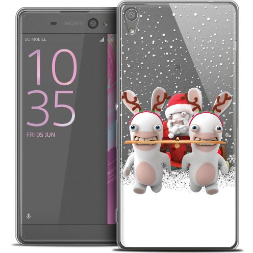 "Coque Xperia XA Ultra 6"" Extra Fine Lapins Crétins™ - Lapin Traineau"