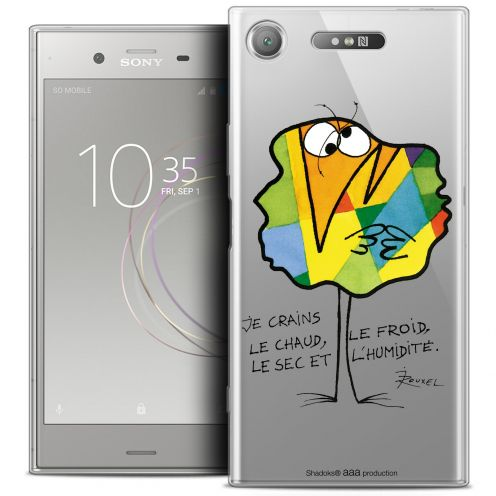"""Coque Gel Sony Xperia XZ1 (5.2"""") Extra Fine Les Shadoks® - Chaud ou Froid"""