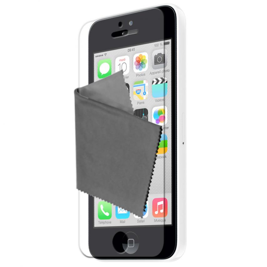 Visuel unique de Films de protection anti traces de doigts iPhone 5C Clubcase ® Lot de 3