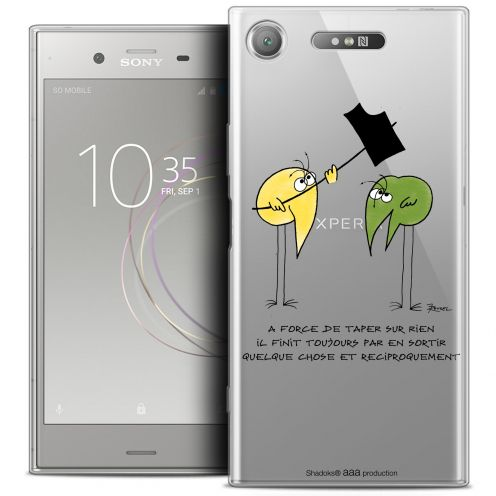 """Coque Gel Sony Xperia XZ1 (5.2"""") Extra Fine Les Shadoks® - A Force"""