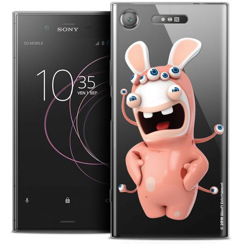 """Coque Gel Sony Xperia XZ1 (5.2"""") Extra Fine Lapins Crétins™ - Extraterrestre"""