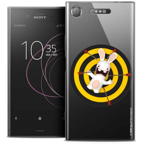 """Coque Gel Sony Xperia XZ1 (5.2"""") Extra Fine Lapins Crétins™ - Target"""