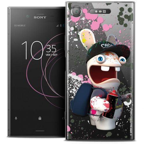 """Coque Gel Sony Xperia XZ1 (5.2"""") Extra Fine Lapins Crétins™ - Painter"""