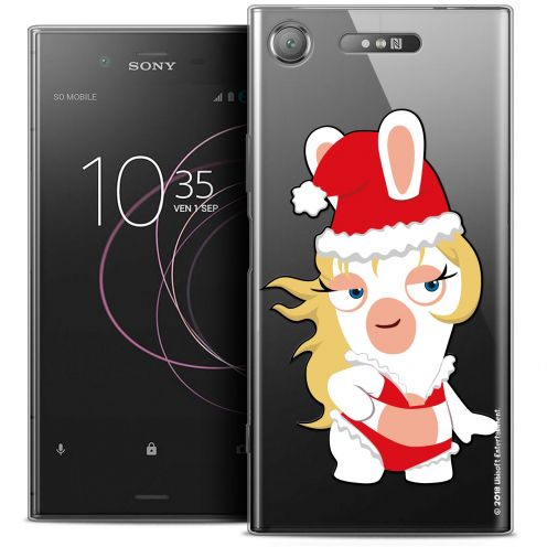 "Coque Gel Sony Xperia XZ1 (5.2"") Extra Fine Lapins Crétins™ - Lapin Danseuse"