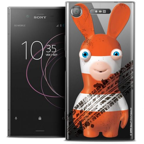 "Coque Gel Sony Xperia XZ1 (5.2"") Extra Fine Lapins Crétins™ - On the Road"