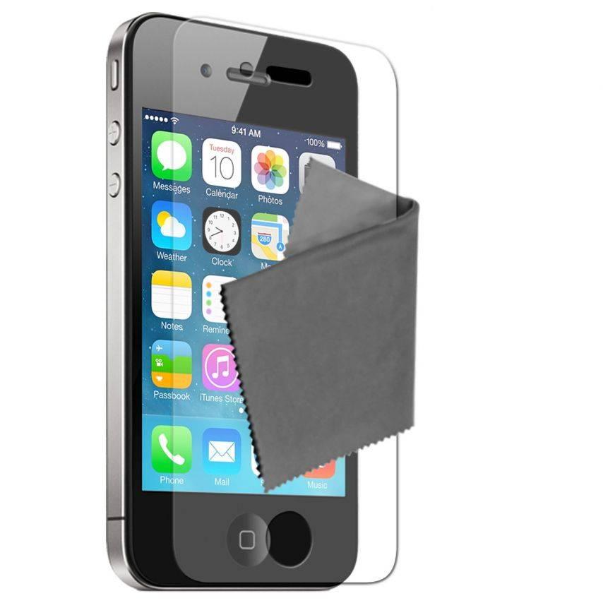 Visuel unique de Films de protection Anti-Reflet iPhone 4 / 4S Clubcase ® Lot de 3