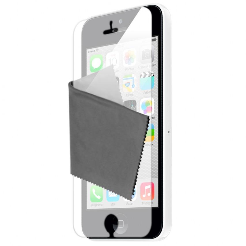 Visuel unique de Films de protection iPhone 5C Miroir Clubcase ® HQ Lot de 5