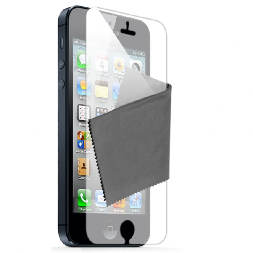 Visuel unique de Films de protection iPhone 5 / 5S Miroir Clubcase ® HQ Lot de 5