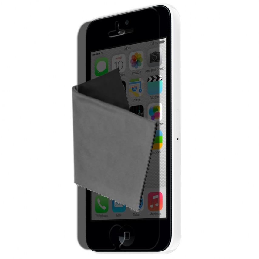 Visuel unique de Films de protection Privacy Anti-Reflet iPhone 5C Clubcase ® Lot de 2