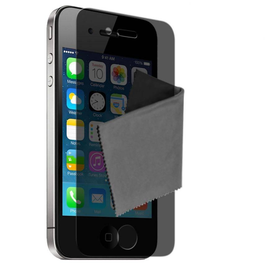 Visuel unique de Films de protection Privacy Anti-Reflet iPhone 4 / 4S Clubcase ® Lot de 3