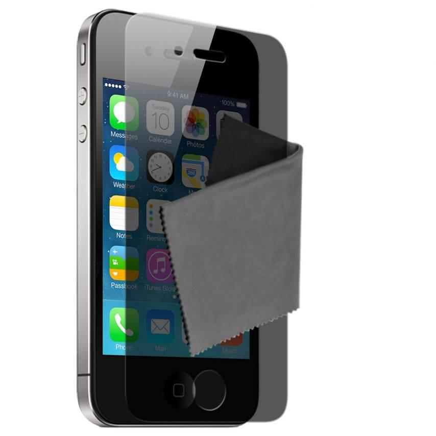 Visuel unique de Films de protection Privacy iPhone 4 / 4S Clubcase ® Lot de 2