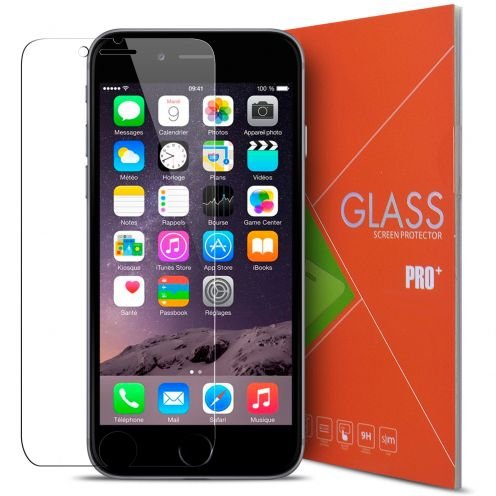 "Vue détaillée de Protection d'écran Verre trempé Apple iPhone 6/6S 4.7"" - 9H Glass Pro+ HD 0.33mm 2.5D"