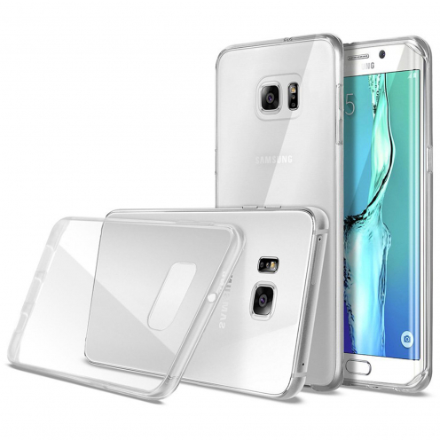 Coque Ultra Fine 0.5mm Souple Crystal Clear View pour Samsung Galaxy S6 Edge