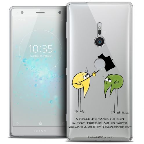 "Coque Gel Sony Xperia XZ2 (5.7"") Extra Fine Les Shadoks® - A Force"