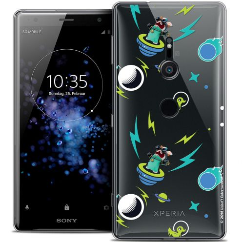 """Coque Gel Sony Xperia XZ2 (5.7"""") Extra Fine Lapins Crétins™ - Space 1"""