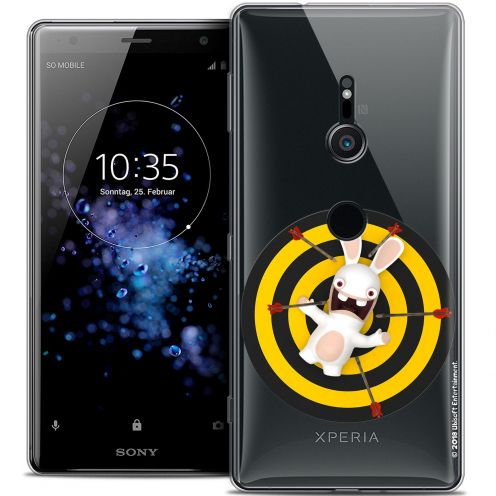 """Coque Gel Sony Xperia XZ2 (5.7"""") Extra Fine Lapins Crétins™ - Target"""