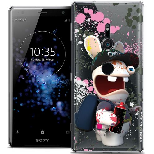 """Coque Gel Sony Xperia XZ2 (5.7"""") Extra Fine Lapins Crétins™ - Painter"""