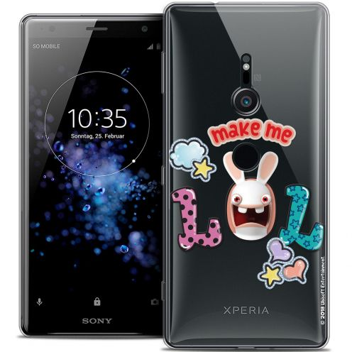"Coque Gel Sony Xperia XZ2 (5.7"") Extra Fine Lapins Crétins™ - LOL"