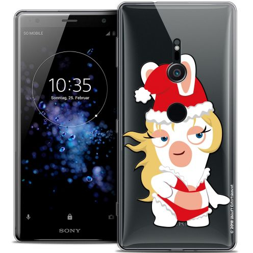 """Coque Gel Sony Xperia XZ2 (5.7"""") Extra Fine Lapins Crétins™ - Lapin Danseuse"""