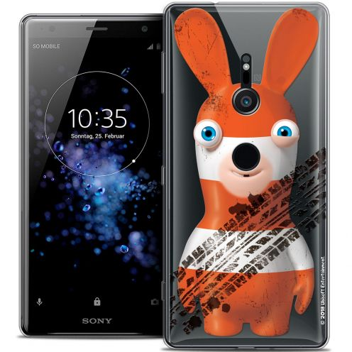 """Coque Gel Sony Xperia XZ2 (5.7"""") Extra Fine Lapins Crétins™ - On the Road"""