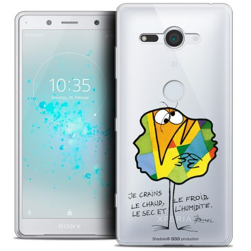 "Coque Gel Sony Xperia XZ2 Compact (5.0"") Extra Fine Les Shadoks® - Chaud ou Froid"