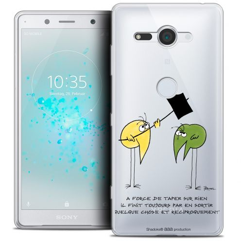 "Coque Gel Sony Xperia XZ2 Compact (5.0"") Extra Fine Les Shadoks® - A Force"