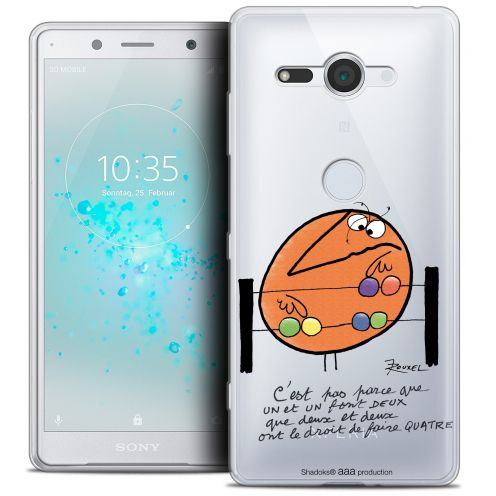 "Coque Gel Sony Xperia XZ2 Compact (5.0"") Extra Fine Les Shadoks® - Mathématique"