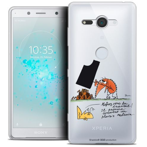 "Coque Gel Sony Xperia XZ2 Compact (5.0"") Extra Fine Les Shadoks® - Le Travail"