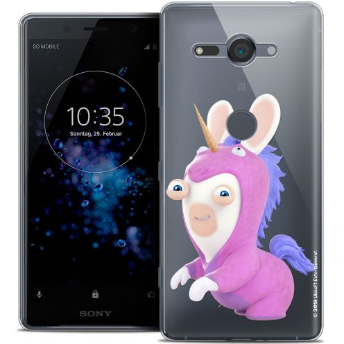 """Coque Gel Sony Xperia XZ2 Compact (5.0"""") Extra Fine Lapins Crétins™ - Licorne"""