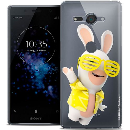 """Coque Gel Sony Xperia XZ2 Compact (5.0"""") Extra Fine Lapins Crétins™ - Sun Glassss!"""