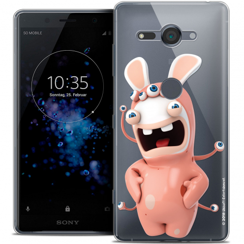 """Coque Gel Sony Xperia XZ2 Compact (5.0"""") Extra Fine Lapins Crétins™ - Extraterrestre"""