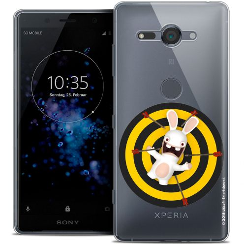 """Coque Gel Sony Xperia XZ2 Compact (5.0"""") Extra Fine Lapins Crétins™ - Target"""