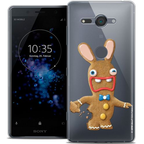 """Coque Gel Sony Xperia XZ2 Compact (5.0"""") Extra Fine Lapins Crétins™ - Cookie"""