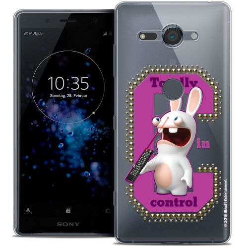 """Coque Gel Sony Xperia XZ2 Compact (5.0"""") Extra Fine Lapins Crétins™ - In Control !"""