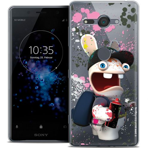"""Coque Gel Sony Xperia XZ2 Compact (5.0"""") Extra Fine Lapins Crétins™ - Painter"""