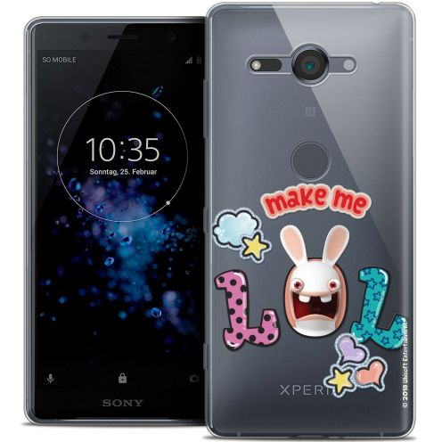 "Coque Gel Sony Xperia XZ2 Compact (5.0"") Extra Fine Lapins Crétins™ - LOL"