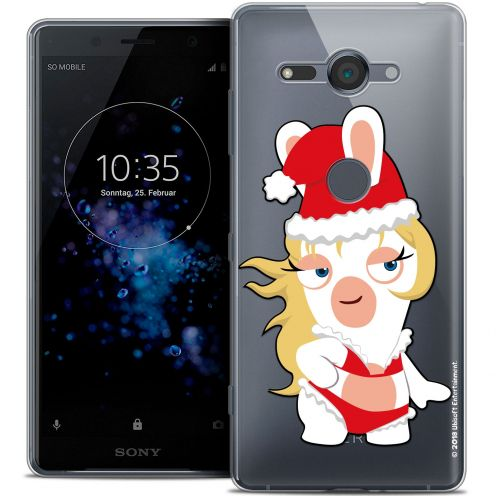 """Coque Gel Sony Xperia XZ2 Compact (5.0"""") Extra Fine Lapins Crétins™ - Lapin Danseuse"""