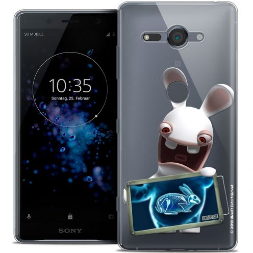 """Coque Gel Sony Xperia XZ2 Compact (5.0"""") Extra Fine Lapins Crétins™ - X Ray Crétin"""