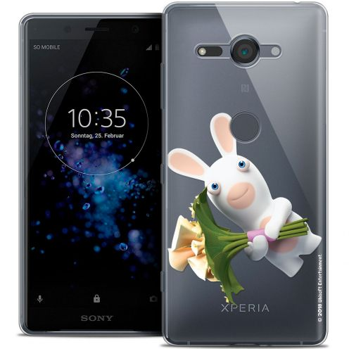 """Coque Gel Sony Xperia XZ2 Compact (5.0"""") Extra Fine Lapins Crétins™ - Bouquet Crétin"""