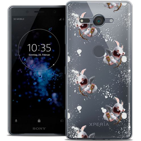 """Coque Gel Sony Xperia XZ2 Compact (5.0"""") Extra Fine Lapins Crétins™ - Cupidon Pattern"""