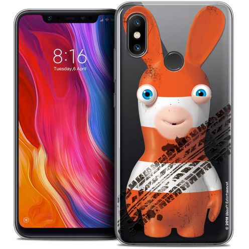 "Coque Gel Xiaomi Mi 8 (6.21"") Extra Fine Lapins Crétins™ - On the Road"