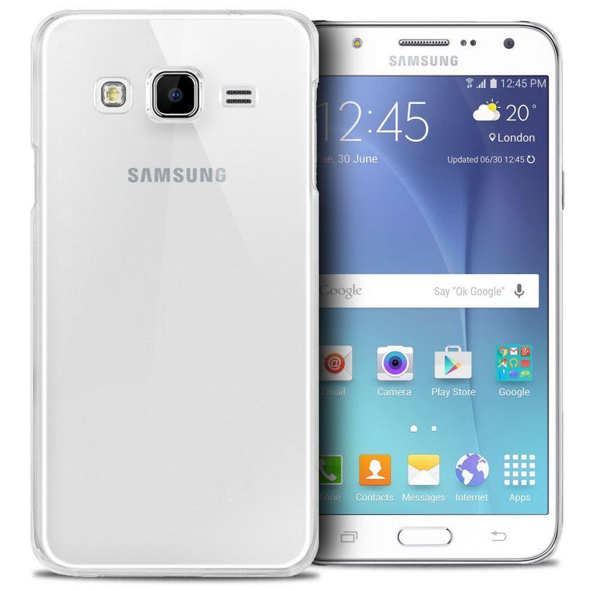 Vue complémentaire de Coque Samsung Galaxy J5 Crystal Extra Fine Transparente