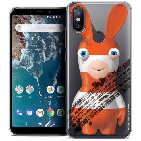 """Coque Gel Xiaomi Mi A2 (5.99"""") Extra Fine Lapins Crétins™ - On the Road"""