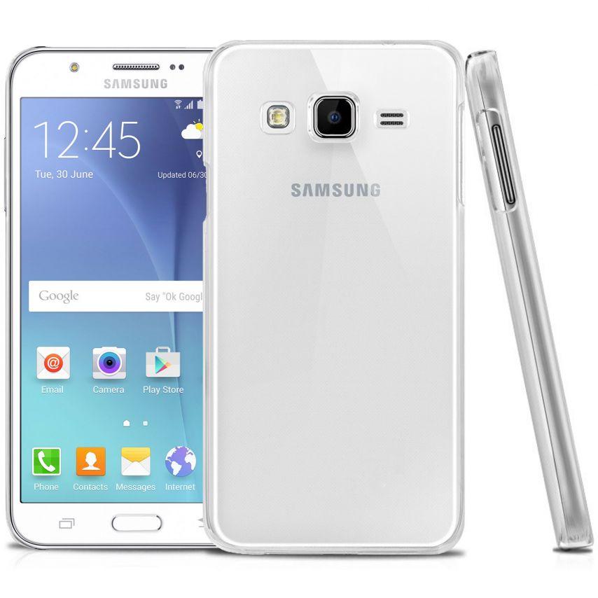 Photo réelle de Coque Samsung Galaxy J5 Crystal Extra Fine Transparente