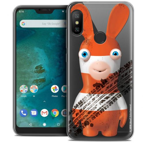 """Coque Gel Xiaomi Mi A2 LITE (5.8"""") Extra Fine Lapins Crétins™ - On the Road"""