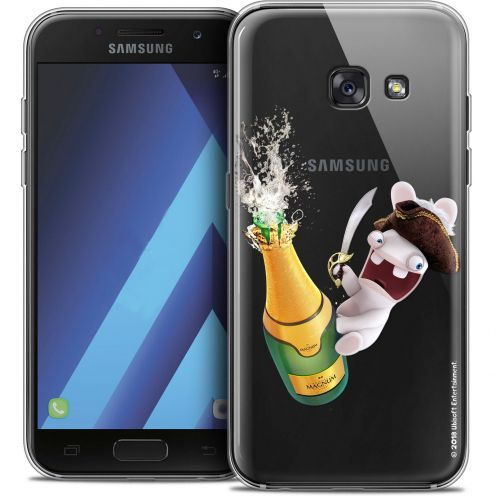 Coque Samsung Galaxy A5 2017 (A520) Extra Fine Lapins Crétins™ - Champagne !