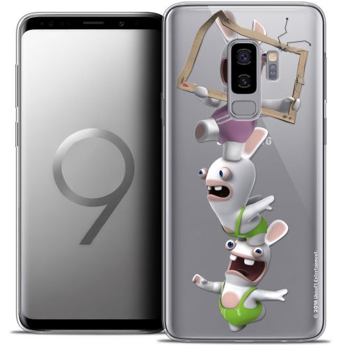 "Coque Gel Samsung Galaxy S9+ (6.2"") Extra Fine Lapins Crétins™ - TV Sport"
