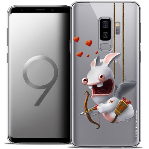 "Coque Gel Samsung Galaxy S9+ (6.2"") Extra Fine Lapins Crétins™ - Flying Cupidon"