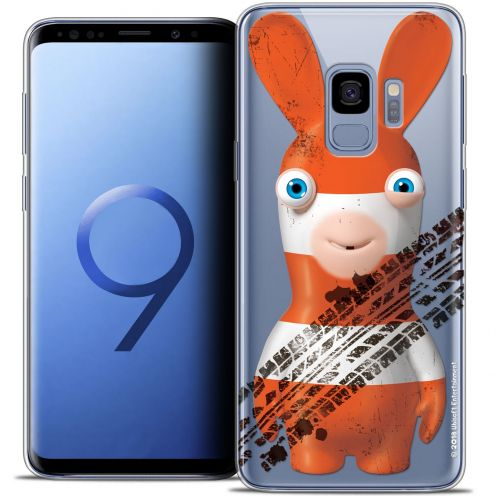 "Coque Gel Samsung Galaxy S9 (5.8"") Extra Fine Lapins Crétins™ - On the Road"